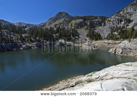 Lake In Wasatch Mountains