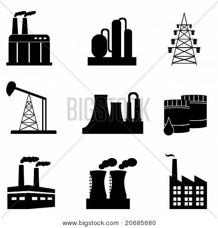 Industrial Icon Set