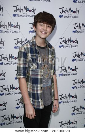 LOS ANGELES - JUN 4: Greyson Chance at the premiere of Relativity Media's 'Judy Moody And The NOT Bummer Summer' held at ArcLight Hollywood in Los Angeles, California on June 4, 2011.