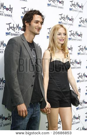 LOS ANGELES - JUN 4: Heather Graham, Jason Silva at the premiere of Relativity Media's 'Judy Moody And The NOT Bummer Summer' held at ArcLight Hollywood in Los Angeles, California on June 4, 2011.