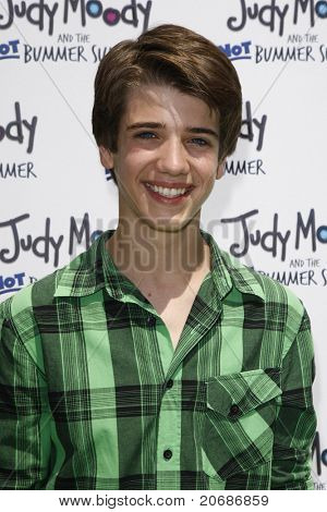 LOS ANGELES - JUN 4: Brandon Tyler Russell at the premiere of Relativity Media's 'Judy Moody And The NOT Bummer Summer' held at ArcLight Hollywood in Los Angeles, California on June 4, 2011.