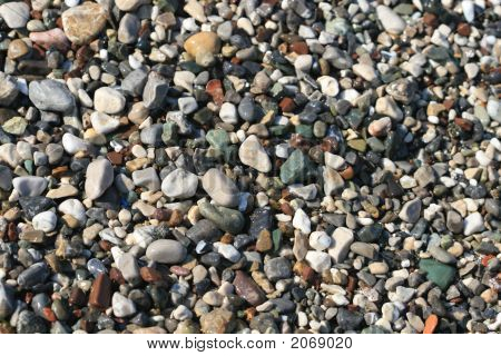Various Sea Pebbles