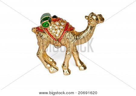 Statuette Of A Golden Camel