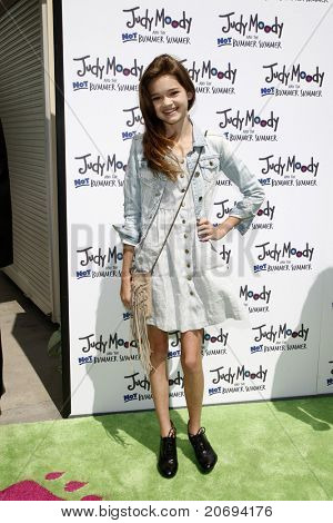LOS ANGELES - JUN 4:  Ciara Bravo arriving at 'Judy Moody And The NOT Bummer Summer' Premiere at ArcLight Hollywood on June 4, 2011 in Los Angeles, CA