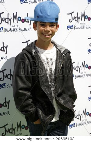 LOS ANGELES - JUN 4:  Cameron Boyce arriving at 'Judy Moody And The NOT Bummer Summer' Premiere at ArcLight Hollywood on June 4, 2011 in Los Angeles, CA