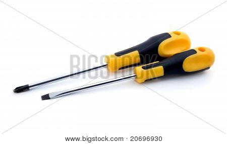 Two Screw Drivers