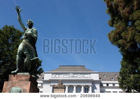Koblenz Castle And Goerres