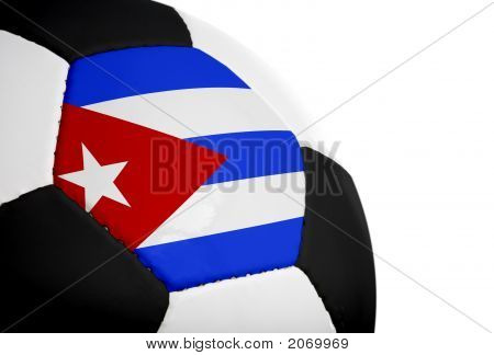 Cuban Flag - Football