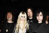 LOS ANGELES - APR 9:  Taylor Momsen with her band 'The Pretty Reckless' at the Vans Warped Tour 2010