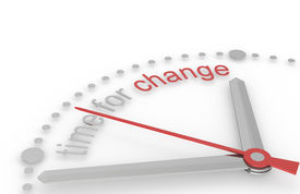 pic of change management  - Time for Change - JPG