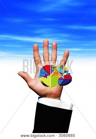 Pie Charts In Hand