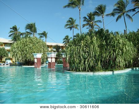 Pool Scenery