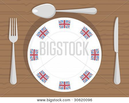 Uk Dinner Plate