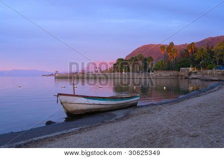 Daybreak On Lake Chapala Shores