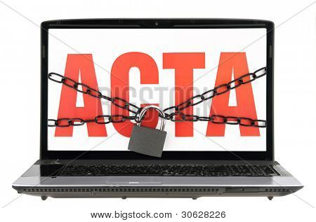 Trade Agreement ACTA inside internet