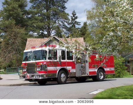 City Fire Truck