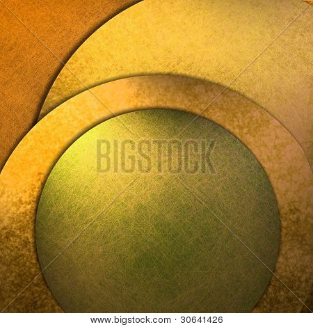Gold Abstract Modern Art Background