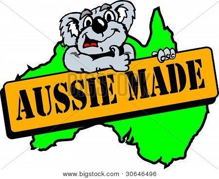 Aussie feita.