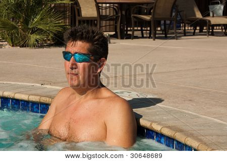 Cool in the Hot Tub