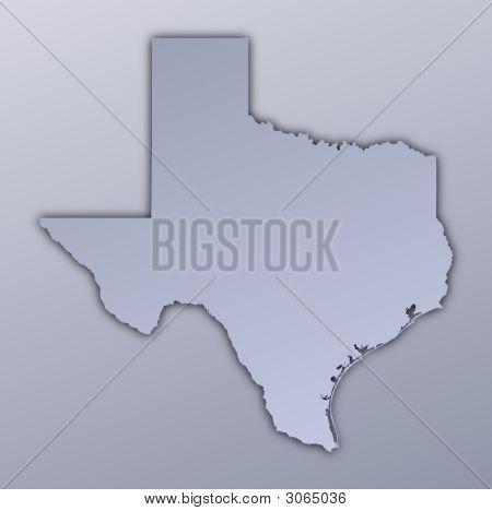 Texas (Usa) Map