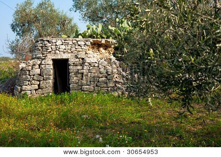 Trullo in a Country