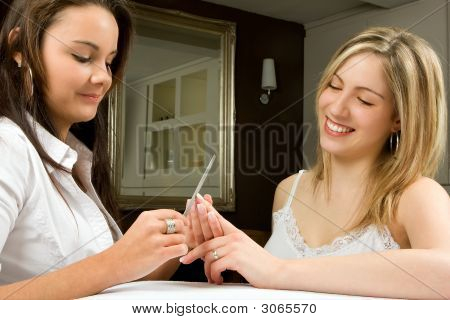Manicure With A Smile