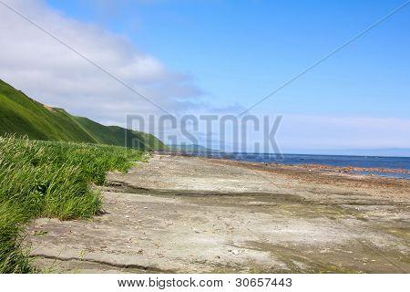 Coast of Bering sea