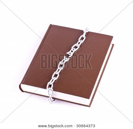 Brown book and the torn chain