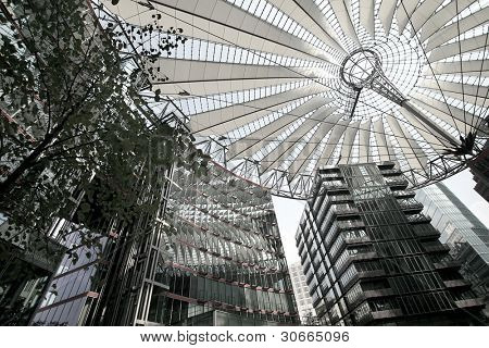 sony building at Potsdamer Platz, Berlin, Germany