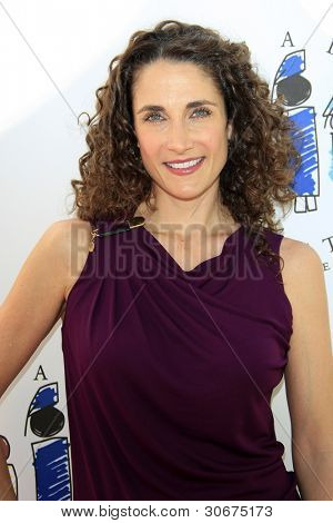 LOS ANGELES, CA - MAR 4: Melina Kanakaredes at the I Have A Dream Foundation's 14th Annual Dreamers Brunch at The Skirball Cultural Center on March 4, 2012 in Los Angeles, California