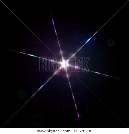 Star light diffraction