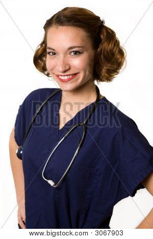 Friendly Young Nurse