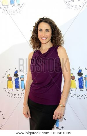 LOS ANGELES - MAR 4:  Melina Kanakaredes arrives at the  Have A Dream Foundation's 14th Annual Dreamers Brunch at the Skirball Cultural Center on March 4, 2012 in Los Angeles, CA