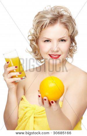 Fresh Squezed Orange Juice