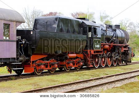 steam train, Veendam - Stadskanaal, Netherlands
