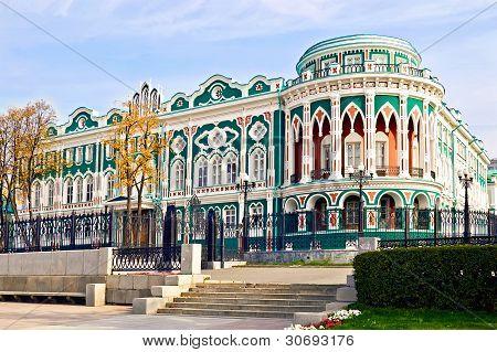 Historic Building In Ekaterinburg
