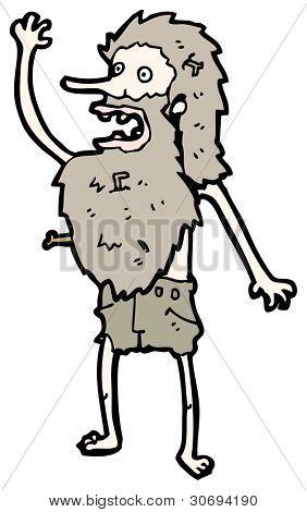 cartoon hermit