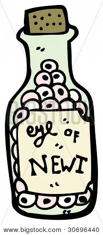 eye of newt cartoon