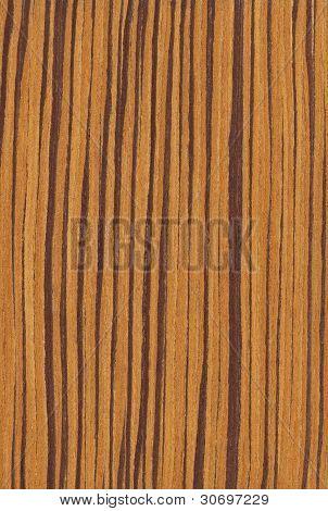Zebrano (wood texture)