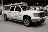 JACKSONVILLE, FLORIDA-FEBRUARY 18: A 2012 Sierra 1500 at the Jacksonville Car Show on February 18, 2