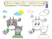 foto of nouns  - Coloring for children  - JPG