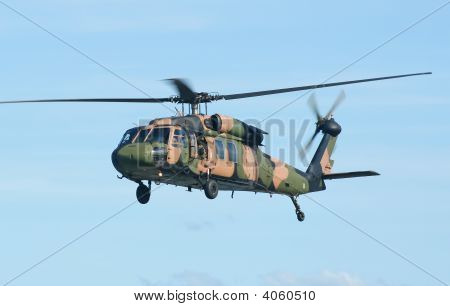Army Blackhawk Chopper