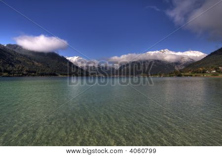 Across The Lake - Achensee Panorama