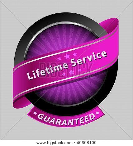 Lifetime service design element