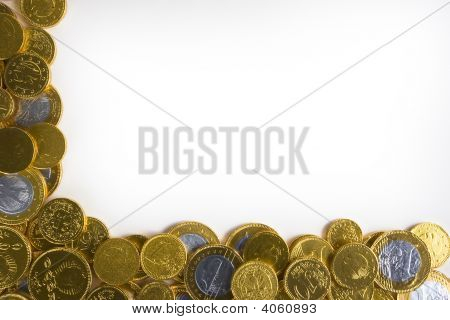 Golden Money Background