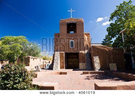 San Miguel Kirche Santa Fe Usa