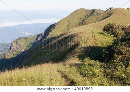 View From Doi Mon Jong Mountain
