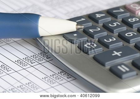 Analyzing financial data concept of accounting and auditing