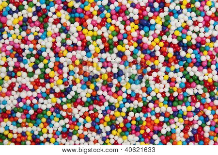 Colorful Round Sprinkles