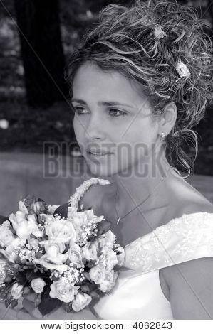 Ramo de novia hermosa celebración